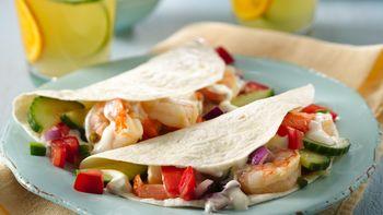 Skinny Citrus Shrimp Tacos