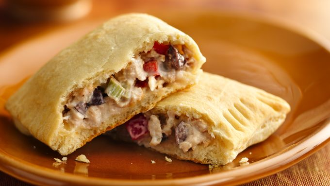 Mediterranean Tuna Crescent Pockets