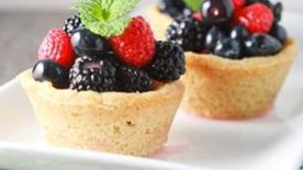 Sugar Cookie Berry Cups