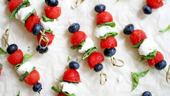 Red, White and Blue Bites