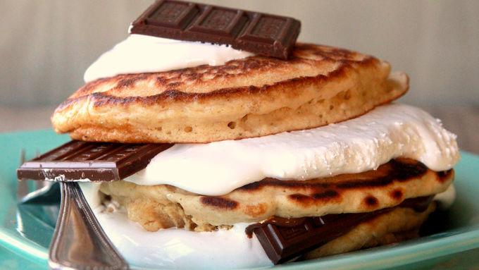 S'mores Stacker Pancakes
