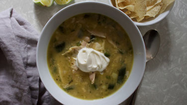 Spicy Chicken White Chili