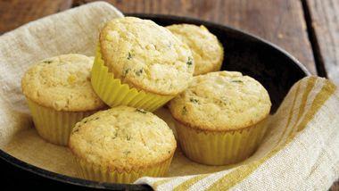 Basil Corn Muffins