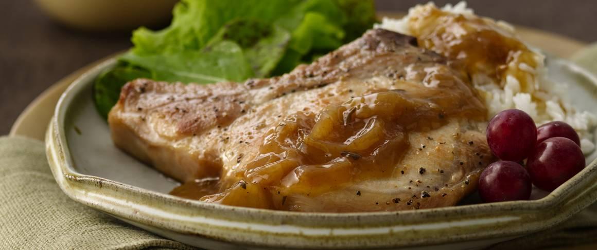 Fat free pork chop recipes