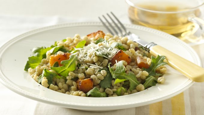 Barley and Roasted Butternut Squash Risotto