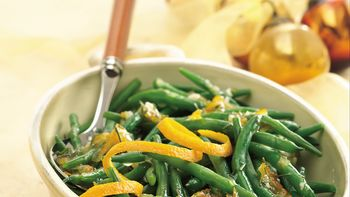 Green Beans with Rosemary-Orange Glaze