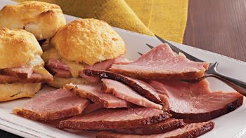 Slow-Cooker Honey Mustard Glazed Ham