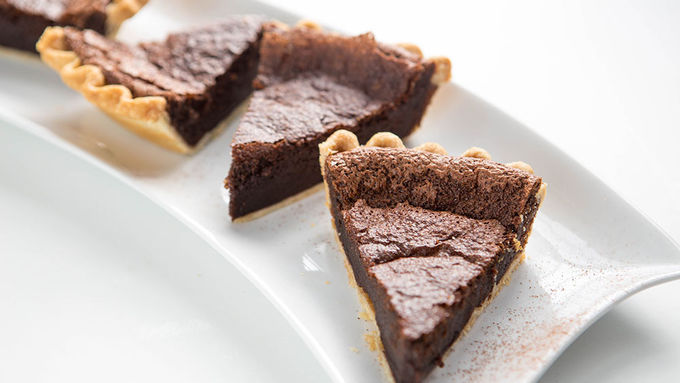 Nutella™ Brownie Pie