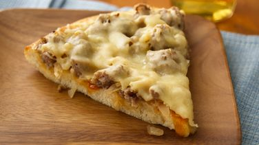 German-Style Sausage Pizza