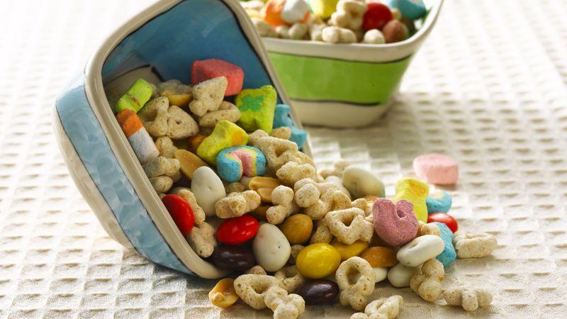 Peanutty Good Luck Snack