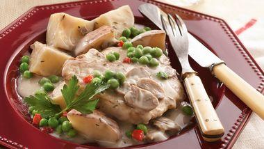 Slow-Cooker Pork Chop Supper