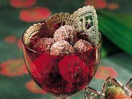 Chocolate-Bourbon Balls recipe from Betty Crocker