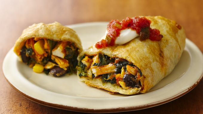 Southwest Mini Crescent Burritos