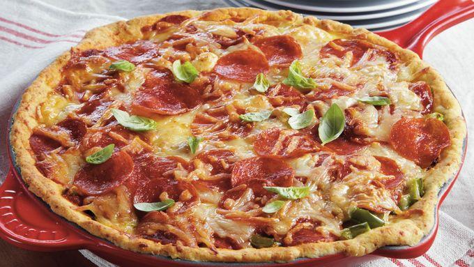 Deep Dish Pizza Pie
