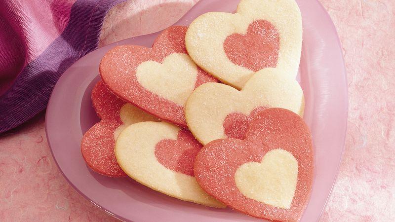 Valentine Rolled Cookies