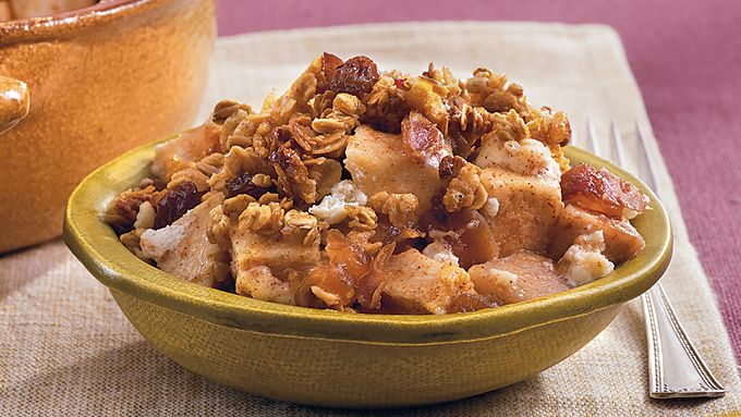 Pear-Apple-Granola Crisp