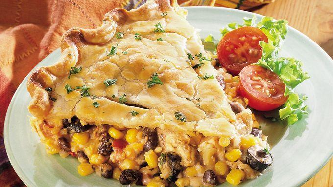 Southwestern Chicken Pie