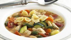 Sopa de Pollo Minestrone