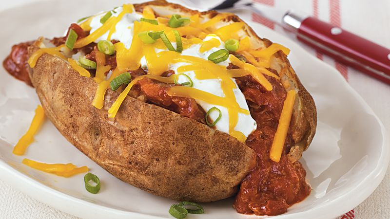 Barbecue-Stuffed Potatoes