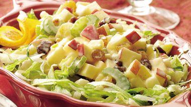Winter Fruit Waldorf Salad