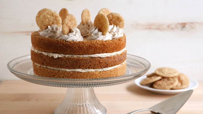 Snickerdoodle Cookie Cake