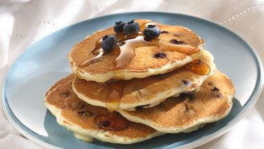 Blueberry Pancakes (Cooking For 2)
