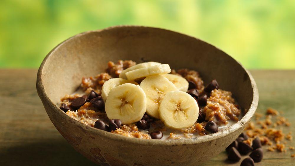 Banana-Chocolate Chip Gran-Oatmeal