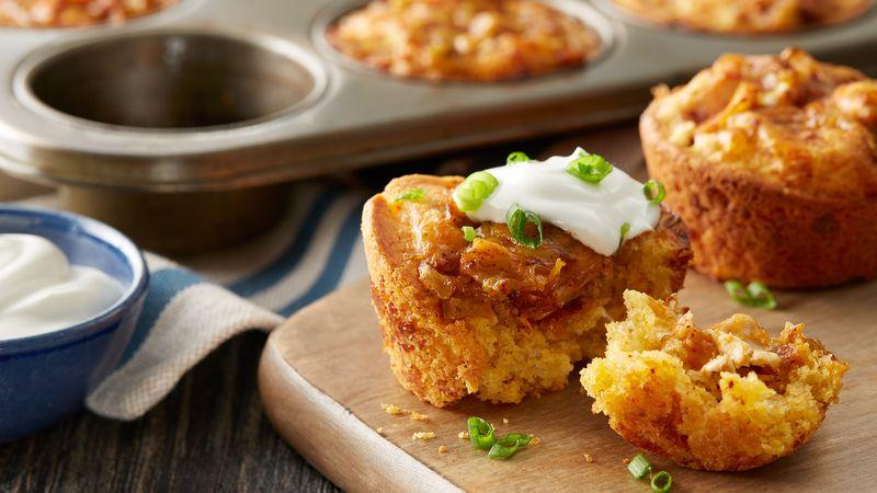Muffin-Tin Chicken Chili Cornbread Cups recipe from Betty ...