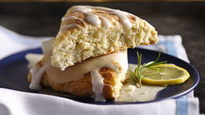 Rosemary-Lemon Cream Scones