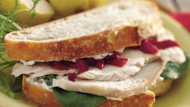 Roasted Turkey Sandwiches