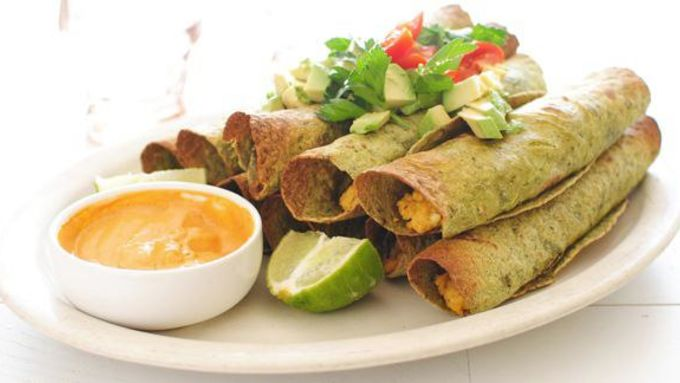 Spicy Breakfast Taquitos