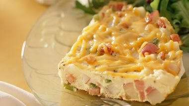 Gluten-Free Hickory Ham and Potato Frittata