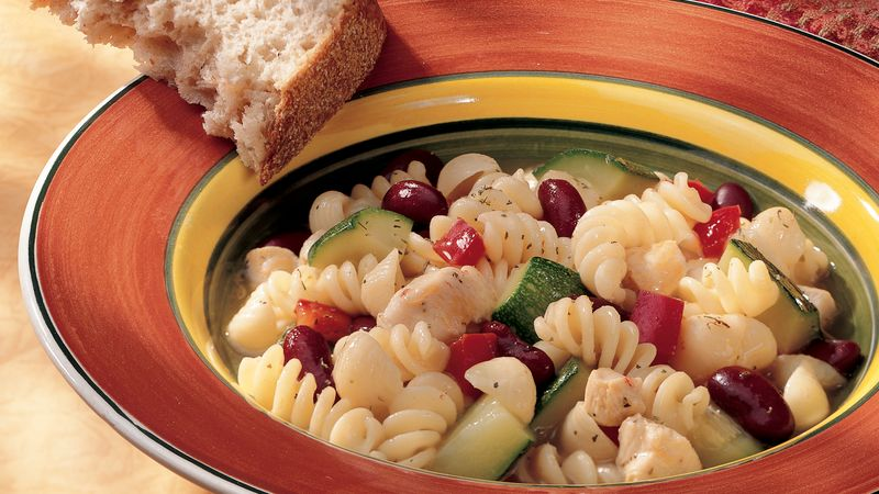 Italian Chicken and Bean Soup
