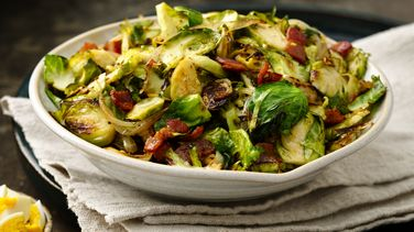 Bacon Brussels Sprouts Salad