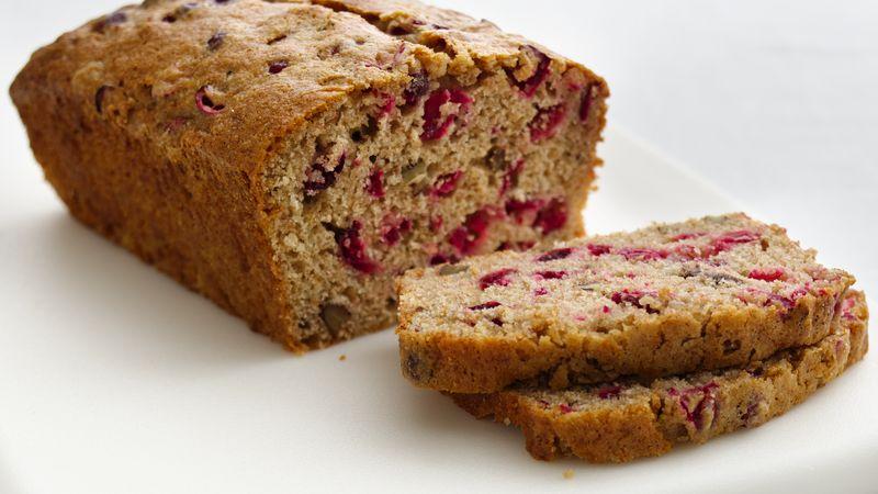 Skinny Cranberry-Nut Bread