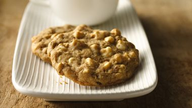 Maple Walnut White Chocolate Chip Cookies