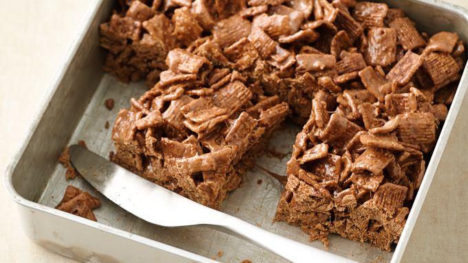 No-Bake Choco-Mallow-Cereal Treat Bars