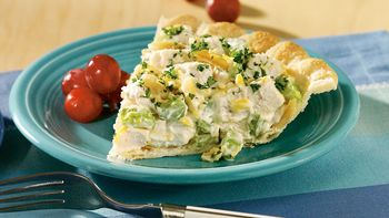 Easy Chicken Salad Pie