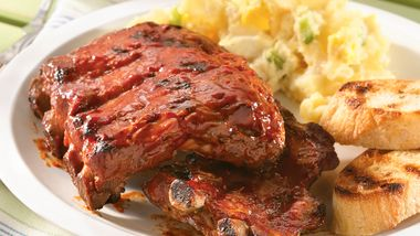 Grilled Slow-Cooker Ribs