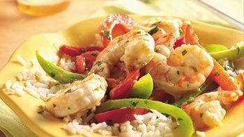 Margarita Shrimp Stir-Fry