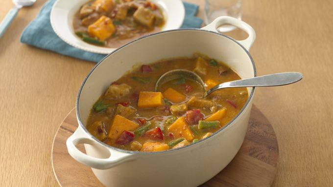 Pumpkin-Pork Stew
