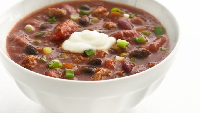Skinny Salsa-Beef Chili