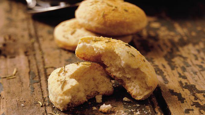 Mini Rosemary-Garlic Focaccias