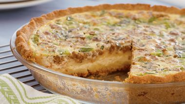 Turkey Sausage Quiche