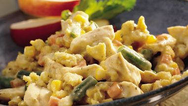 Chicken and Cornbread Stuffing Casserole
