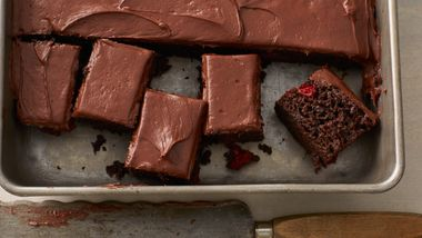 Triple-Chocolate Cherry Bars