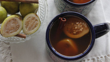 Mexican Guava and Plum Punch