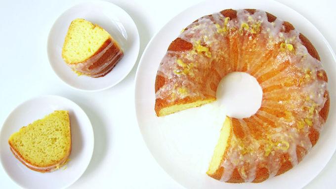 Lemon Yogurt Bundt Cake