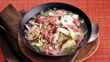 Slow-Cooker Corned Beef and Cabbage Stew