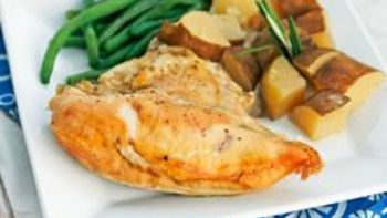 Slow Cooker Herbed Chicken and Potatoes